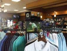 River Strand golf shop