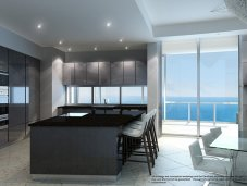 Porsche Design Tower kitchen