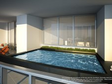 Porsche Design penthouse terrace pool